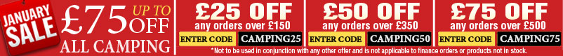 Camping January Sale