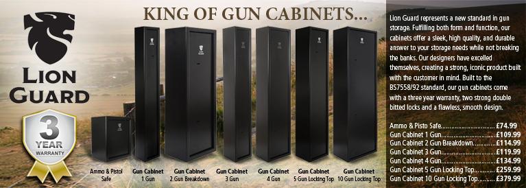 Lion Guard Gun Safes