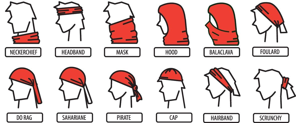Buff Headwear Functions