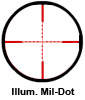 Hawke Illuminated Mil-Dot