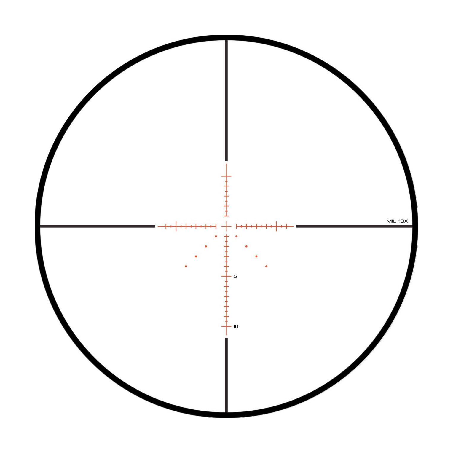 Reticle Enhanced Mil-Dot MH10