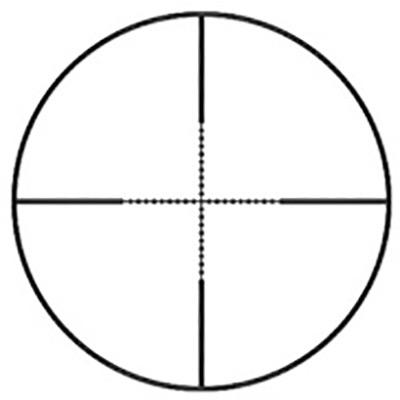 Reticle Half Mil Dot