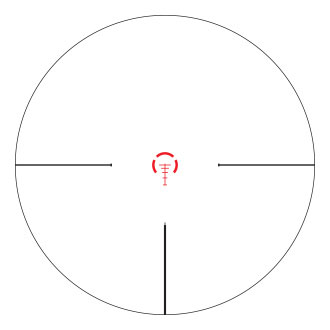 Reticle AR-BDC (MOA)