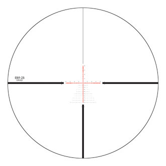 Reticle EBR-2B MRAD