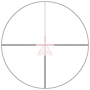 Reticle EBR-7C (MRAD)