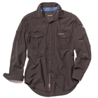 Craghoppers Mens NosiLife Long-Sleeve Shirt - Dark Bark