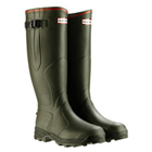 Hunter Balmoral Neoprene Wellington Boots - Dark Olive