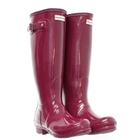 Hunter Original Gloss Wellington Boots - Violet