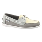 Sebago Dockside Spinnaker Boat Shoe (Men's) - Grey/Off White/Blue