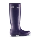 Hunter Original Wellington Boots (Unisex) - Aubergine Image #2
